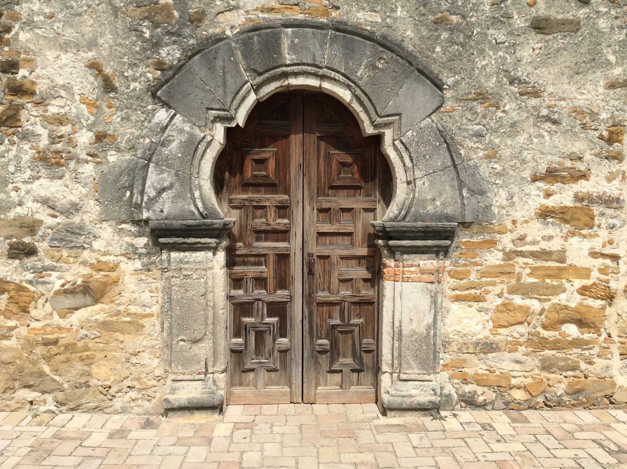 Mission Espada Church Door